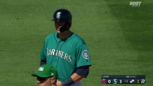 Mariners' Ryon Healy makes spring debut