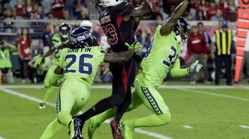 Seattle Seahawks agree to terms with Arizona free-agent WR Jaron Brown | The News Tribune