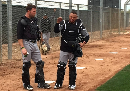 New Chicago White Sox catcher Castillo working hard to get up to speed