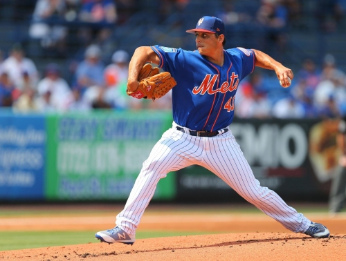 Mets think Jason Vargas will be ready for start of season