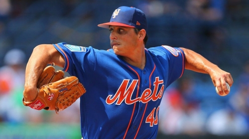 Mets' Vargas not sure when he'll pitch again