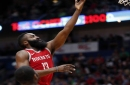Harden, Rockets beat Pelicans for 21st win in 22 games