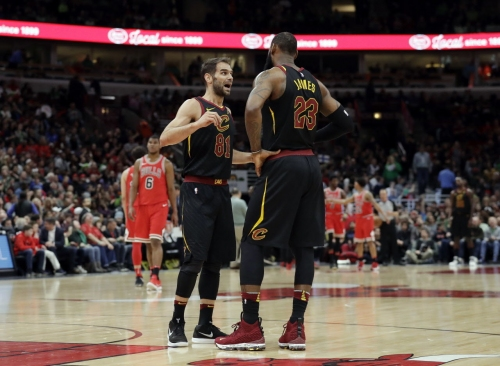 Has Jose Calderon earned more playing time for Cavaliers moving forward?
