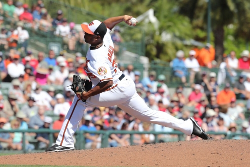 Rule 5 pick Pedro Araujo has a chance to make the Orioles' Opening Day roster