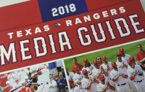 McGwire, Ruth, Gallo? The most interesting facts we found in the 2018 Texas Rangers media guide