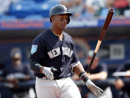 Yankees option Miguel Andujar to Triple-A, demote Estevan Florial