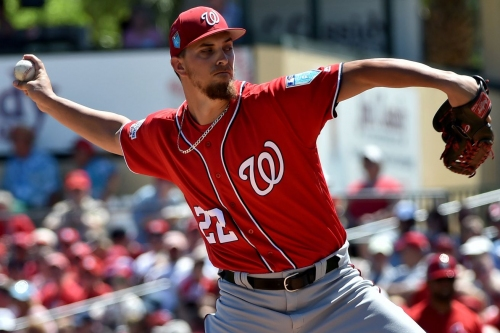 Washington Nationals lose 10-0 to St. Louis Cardinals: A.J. Cole Ks six in four innings...