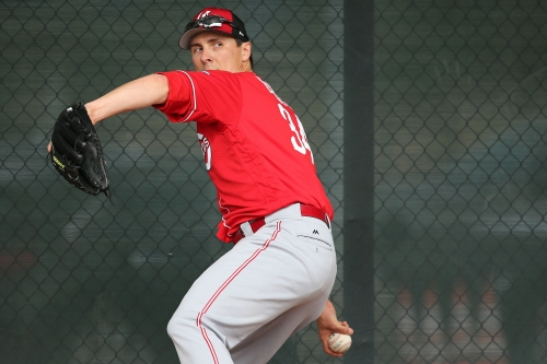 You can write Homer Bailey in as the Reds' Opening Day starter — just don't use ink yet