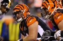 Former Bengals center Russell Bodine on a visit with Bills