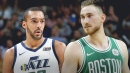 Rudy Gobert 'not worried' about Gordon Hayward anymore