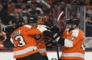 Simmonds scores 2 goals, helps lift Flyers past Capitals 6-3