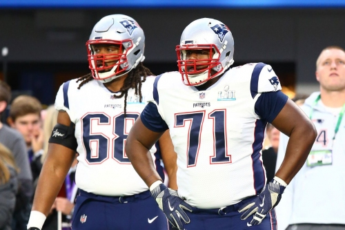 Updates on the Patriots and the offensive tackle market