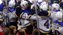 Blues work overtime all weekend, jump back into playoff race
