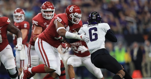 Former Oklahoma tackle Orlando Brown goes in first round in NFL.com mock draft