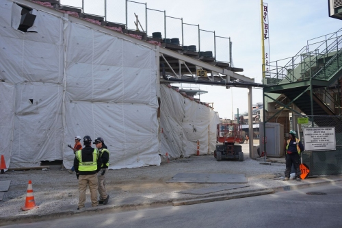 Wrigley Field construction update: March 18