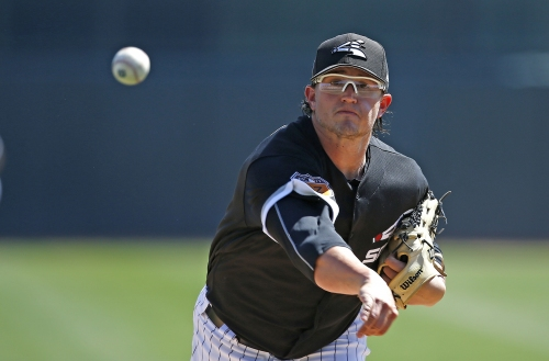 Big day for White Sox pitcher Carson Fulmer, with spot in rotation on the line