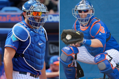 Mets might not have to choose between two catching options