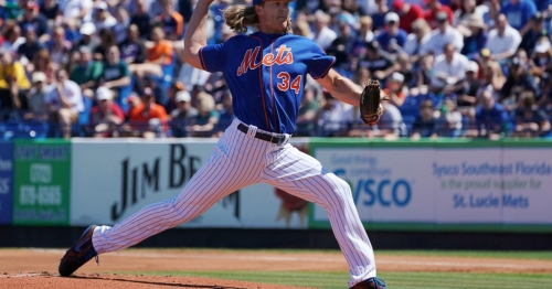 Mets righty Noah Syndergaard ready for Opening Day after sensational effort