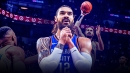 Thunder news: Steven Adams appears to have mastered the jump-ball