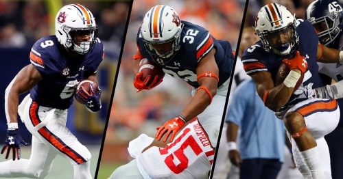 Running back by committee hasn't been Gus Malzahn's style, which should tell you something