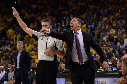 Cavaliers' coach Ty Lue leaves team to deal with a health issue