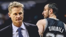 Steve Kerr can see Manu Ginobili playing until he's 58