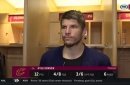 Kyle Korver discusses the impact of the return of Kevin Love