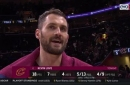 Kevin Love scores 18 in return, plays with new Cavs teammates for first time