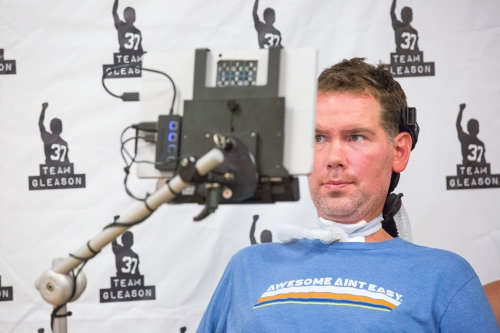 Steve Gleason hospitalized for past few days but says he 'will be home soon'