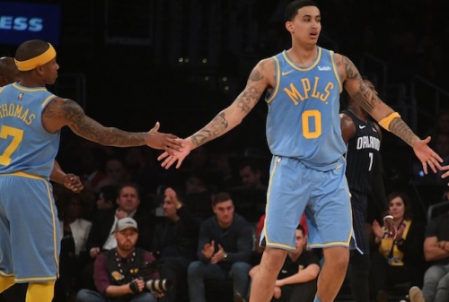 Isaiah Thomas Says Young Lakers Can Be 'Special' And Kyle Kuzma Has Talent To Be A Star