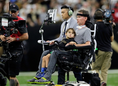 Steve Gleason hospitalized for a few days and 'will be home soon'