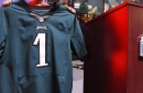 Why do the Eagles' green jerseys look so different than they did a few years ago?