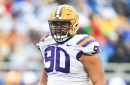 Lawrence, Fehoko Ready to Bring LSU's Line Back to Prominence