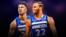 Andrew Wiggins not concerned with replacing Jimmy Butler