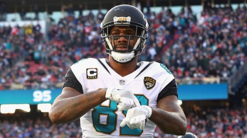 Jaguars release tight end Marcedes Lewis