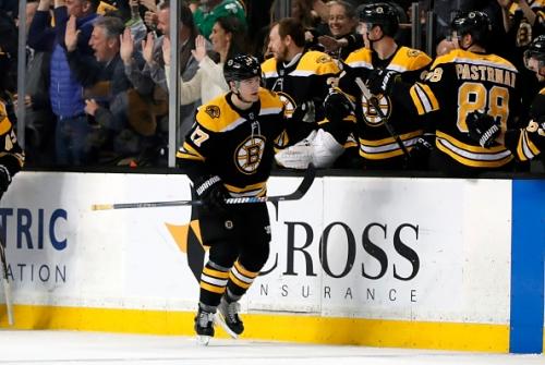 Boston Bruins Ryan Donato Shines in Debut