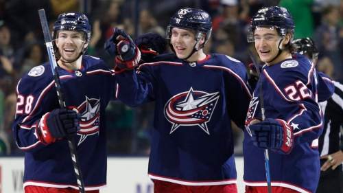 Blue Jackets clicking in final push for the playoffs