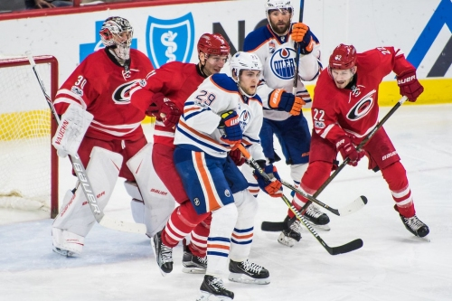 Canes vs. Oilers: Lines and Game Hub