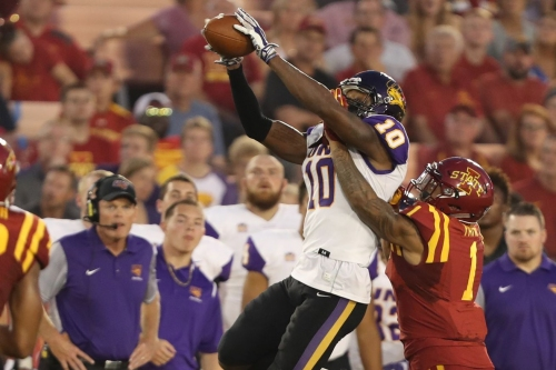 Bengals hosting Northern Iowa WR Daurice Fountain for pre-NFL Draft visit