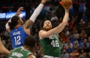 The Celtics (still shorthanded) host the Thunder in between road trips