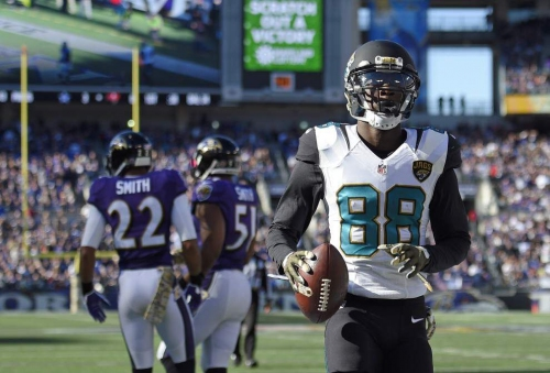 Free agent wide receiver Allen Hurns tells radio station Saints are among interested teams
