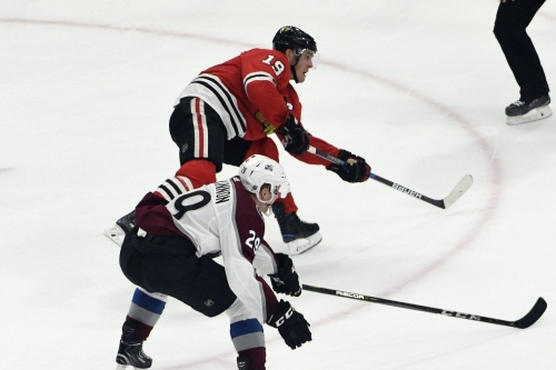 Hawks vs. Avalanche game thread: Part 1