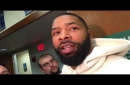 Marcus Morris after game-winning 3-pointer sends Boston Celtics past Oklahoma City Thunder: I don't know how to spell hesitation