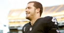 Derek Carr visits Cal on first day of spring ball