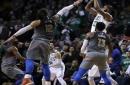 Marcus Morris' 3 lifts Celtics over Thunder, 100-99