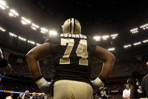 Jermon Bushrod on return to Saints: 'It was kind of a no-brainer for me'