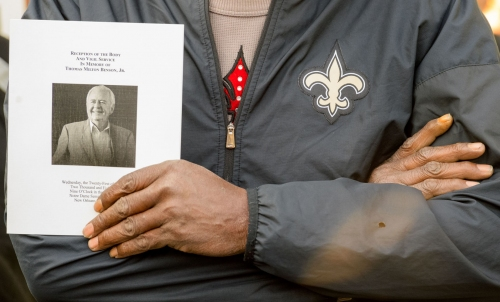 'Changed forever': Saints GM Mickey Loomis, former player Rickey Jackson reflect at Tom Benson visitation