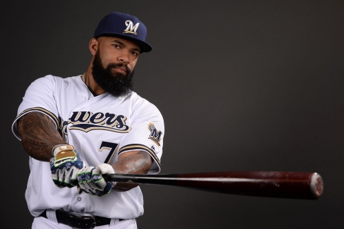 Miley, Logan exit with injury, but Brewers walk off A's 4-3