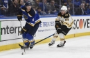 RANK 'EM: Bruins fall to Blues in overtime