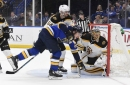 HIGHLIGHTS: Bruins and Blues battle into overtime but St. Louis wins, 2-1